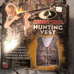 Mossy oak kids hunting vest new